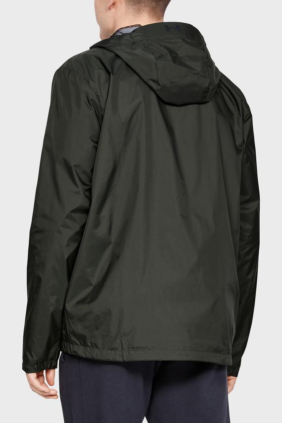 Мужская зеленая ветровка UA Forefront Rain Jacket