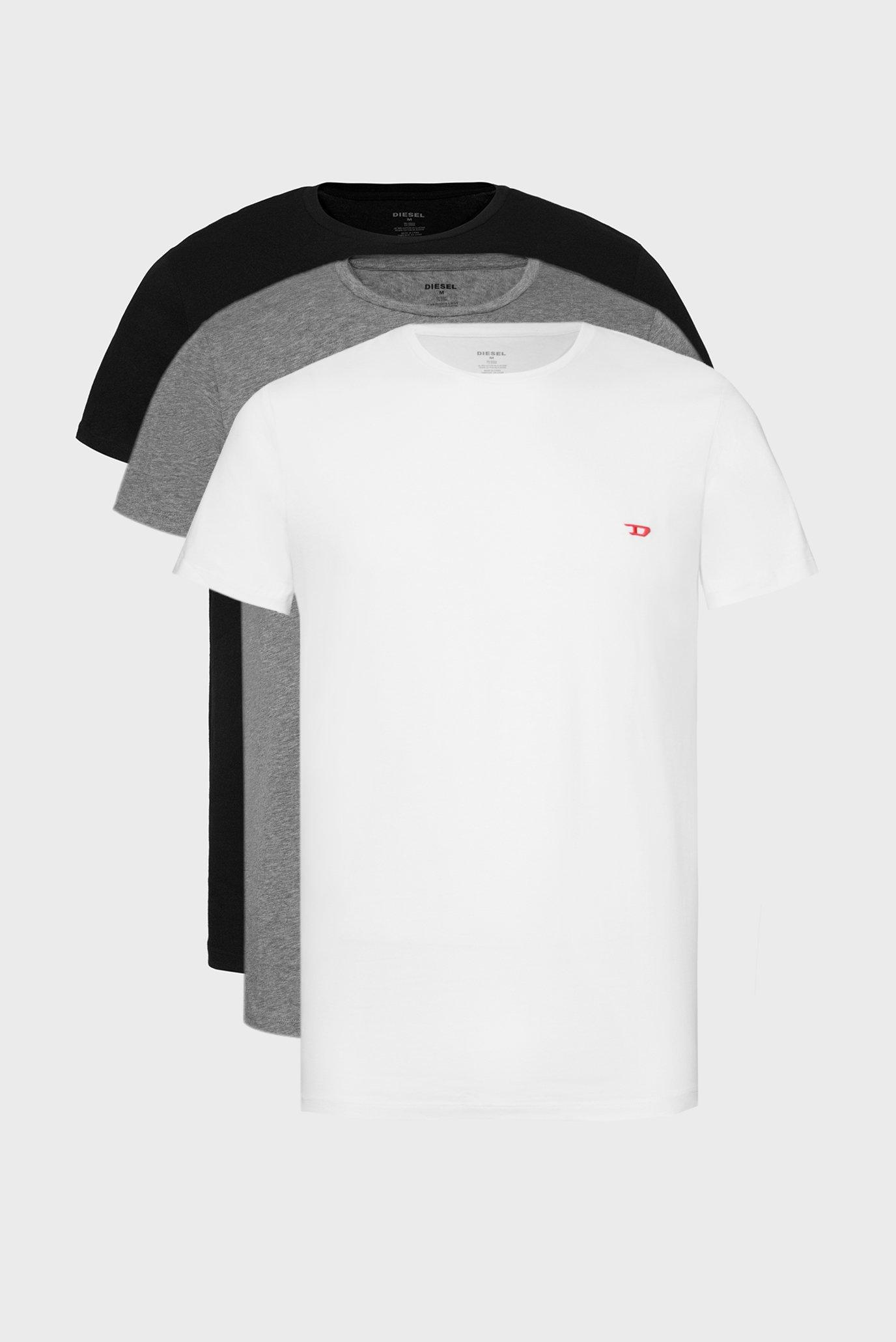 Мужская хлопковая футболка UMTEE-RANDAL (3 шт) Diesel