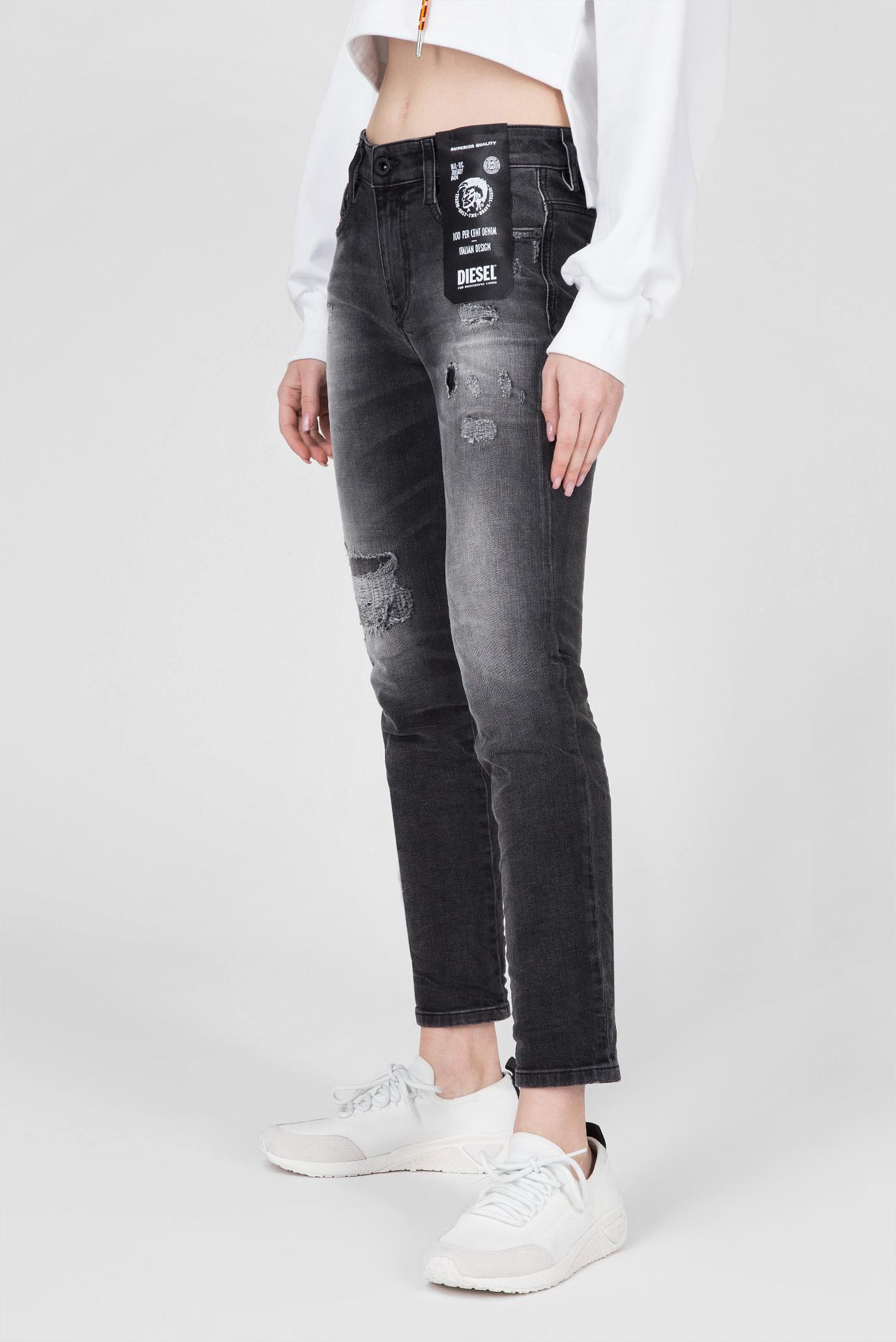 Купить Женские черные джинсы D-RIFTY Diesel Diesel 00SMN0 069DW – Киев, Украина. Цены в интернет магазине MD Fashion