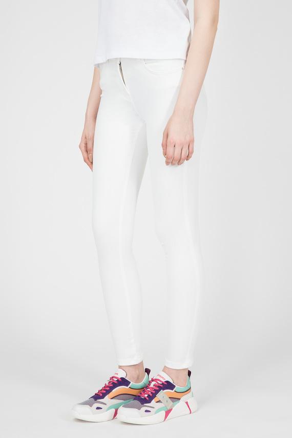 Женские белые джинсы Super WOW