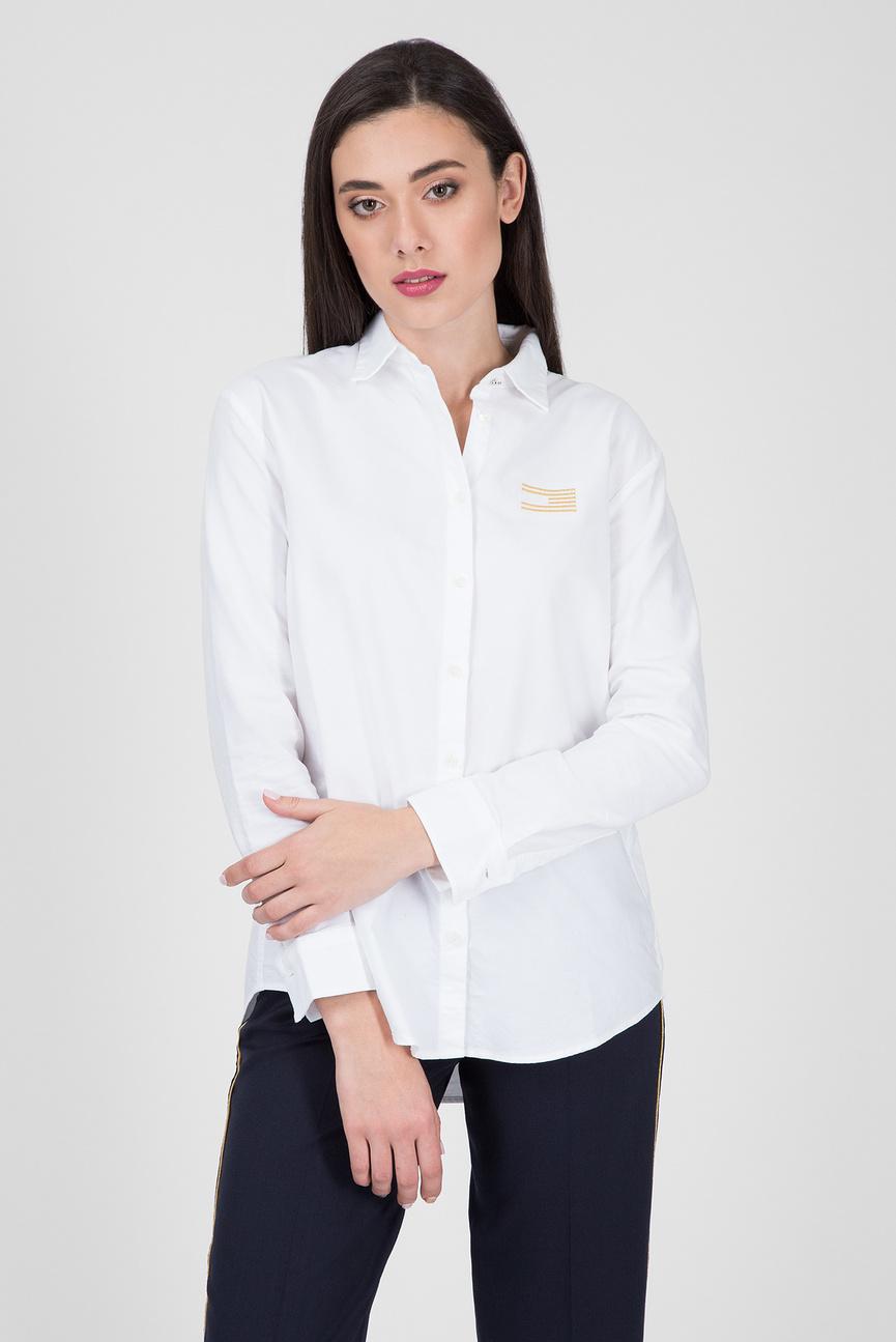 Женская белая рубашка ICON GIRLFRIEND SHIRT