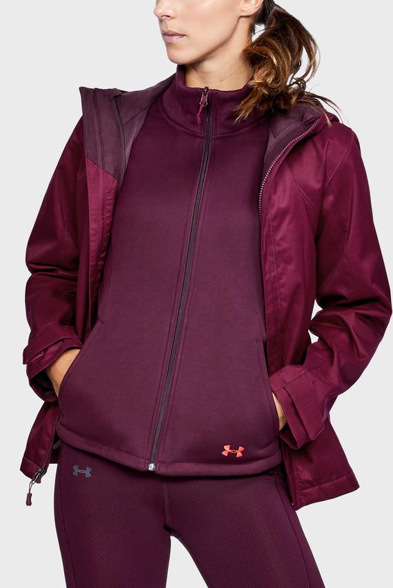 Женская бордовая куртка UA CGI Sienna 3-in-1 Jacket