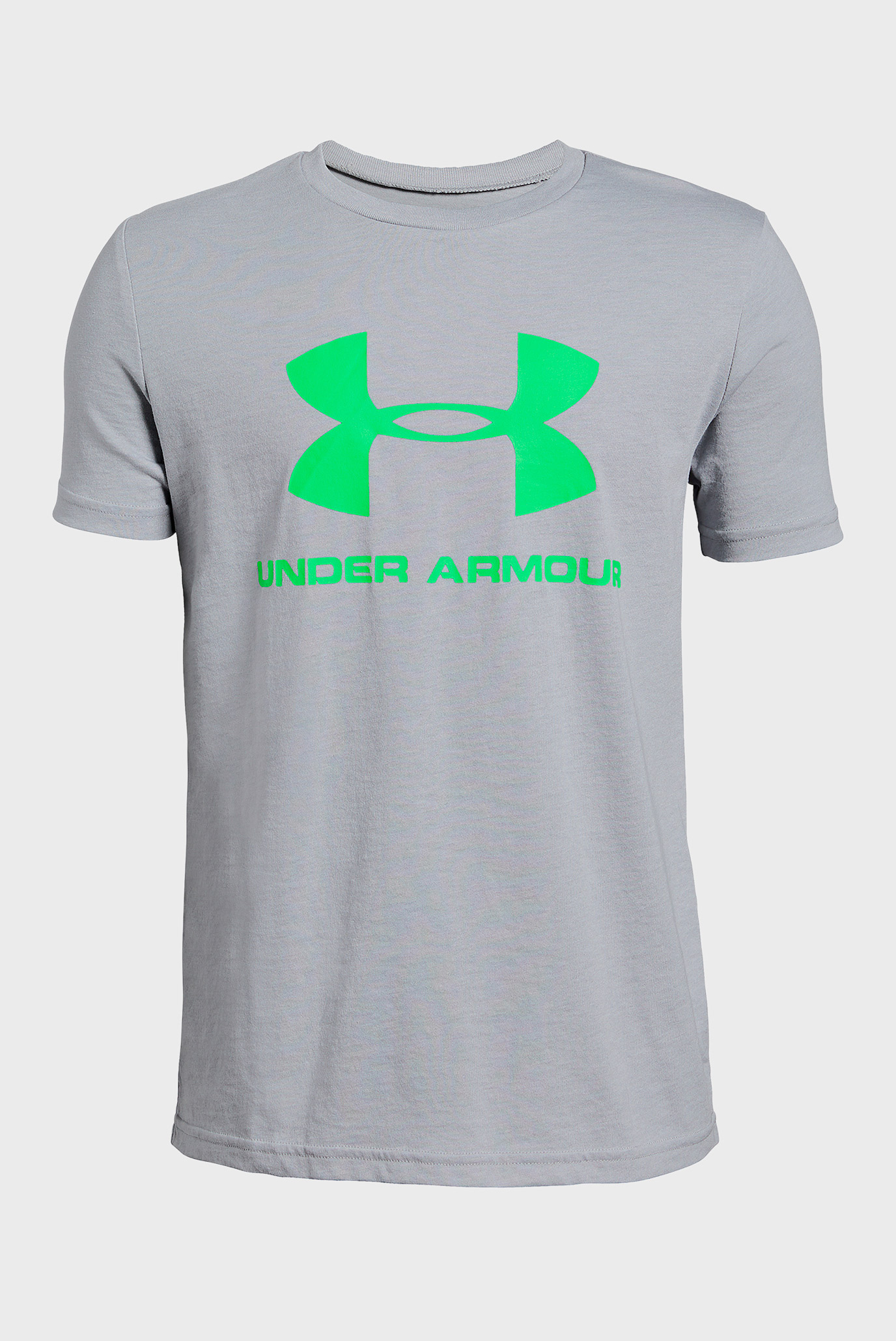 Купить Детская серая футболка Sportstyle Logo Under Armour Under Armour 1330893-011 – Киев, Украина. Цены в интернет магазине MD Fashion