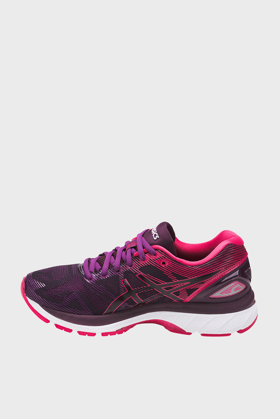 Женские фиолетовые кроссовки GEL-NIMBUS 19