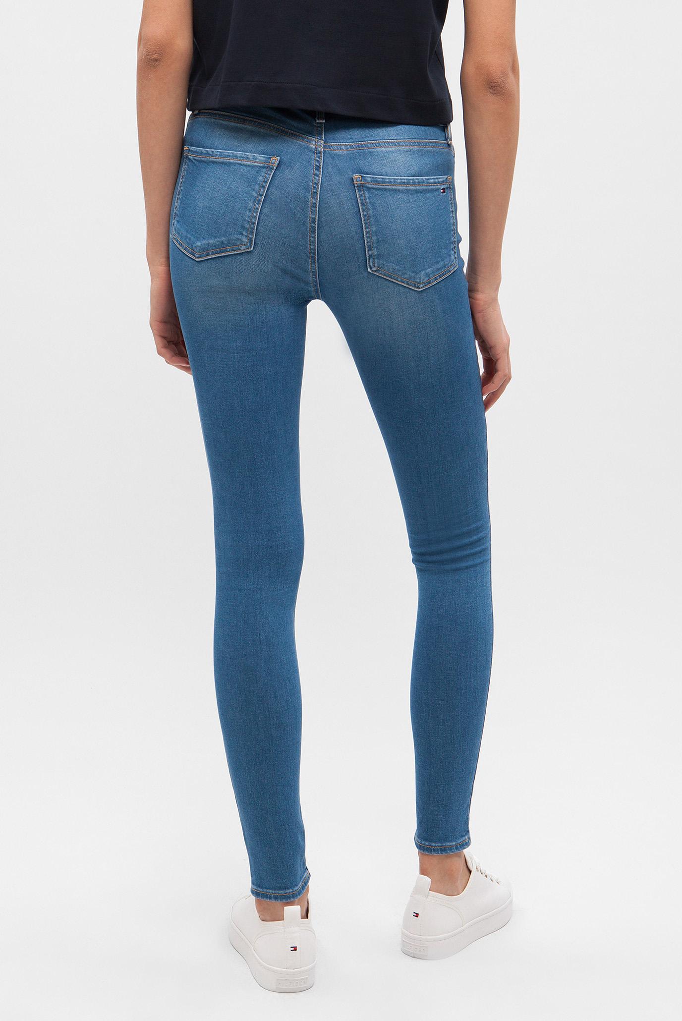 Женские синие джинсы HARLEM HW ANKLE SERENA Tommy Hilfiger