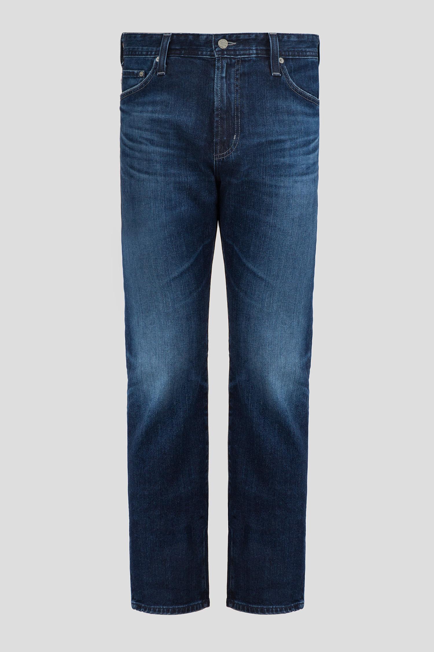 Мужские темно-синие джинсы The Everett AG