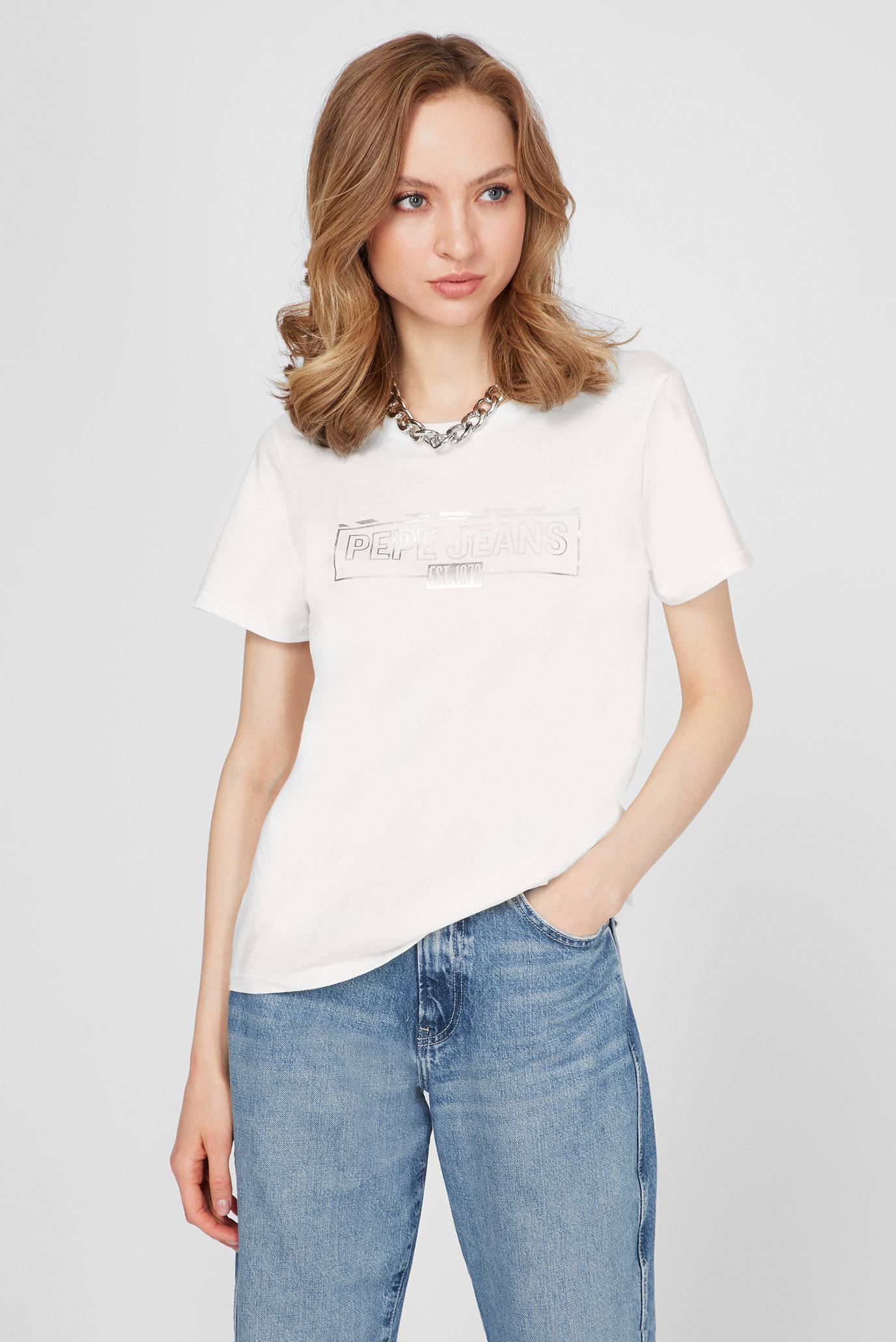 Женская белая футболка BETTY 1