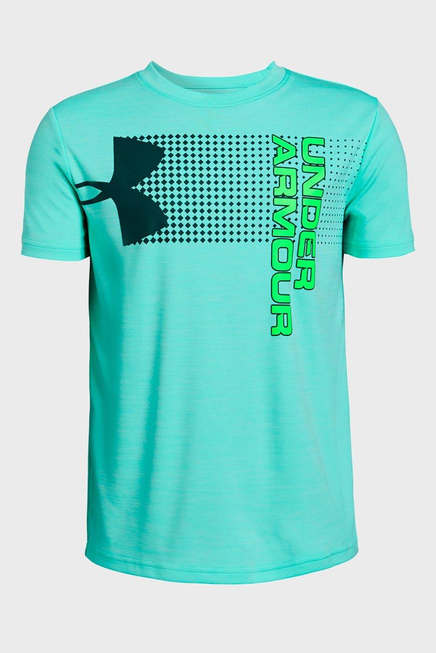 Детская бирюзовая футболка Printed Crossfade