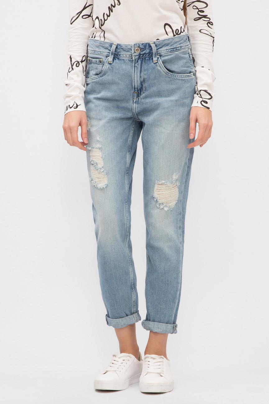 Женские голубые джинсы VIOLET