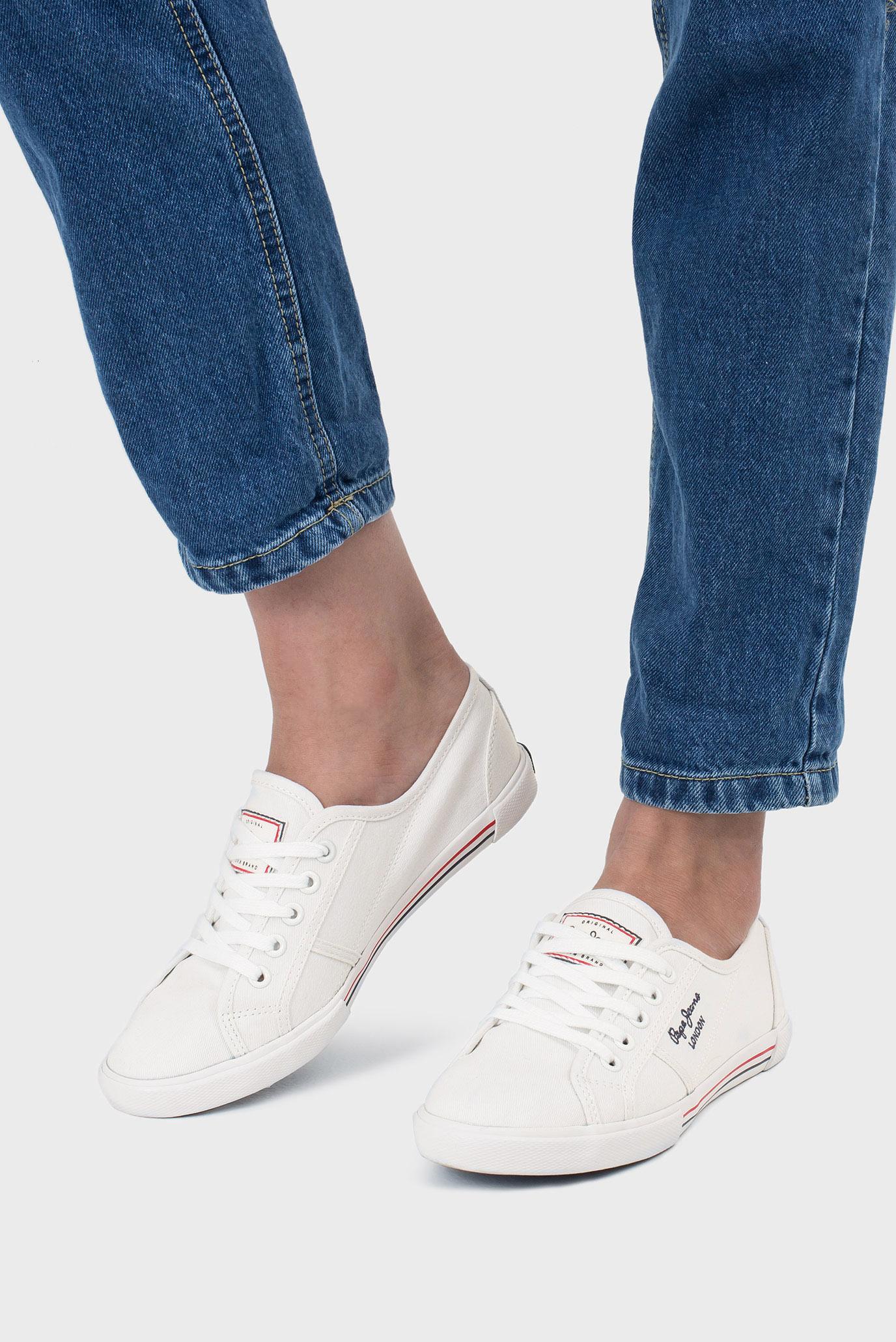 Купить Женские белые кеды Pepe Jeans Pepe Jeans PLS30500 – Киев, Украина. Цены в интернет магазине MD Fashion