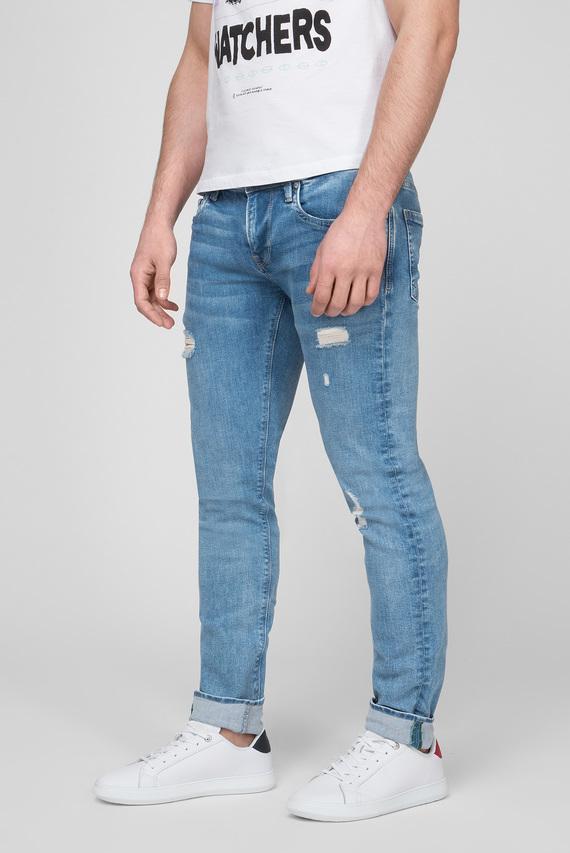 Мужские голубые джинсы HATCH