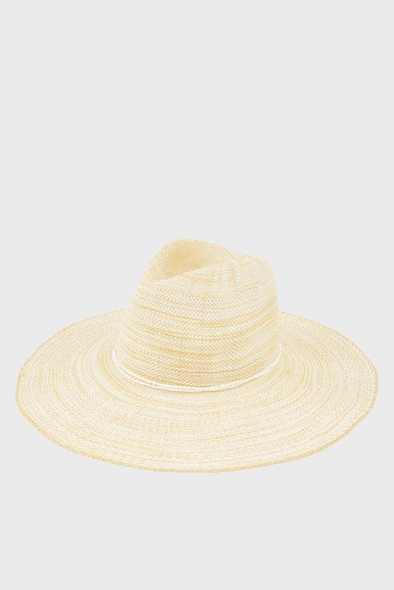 Женская шляпа SIMPLE WEAVE WIDE BR