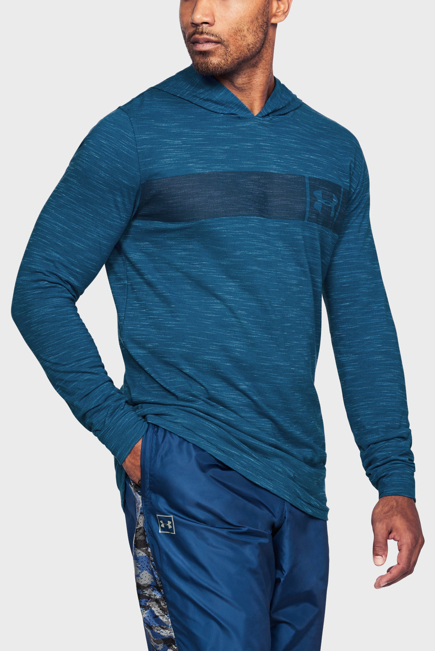 Мужское синее худи SPORTSTYLE CORE HOODIE