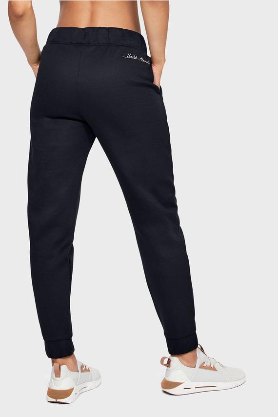 Женские черные спортивные брюки RECOVERY FLEECE