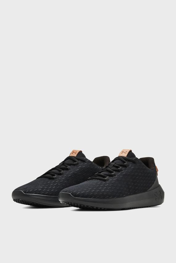 Мужские черные кроссовки UA Ripple Elevated