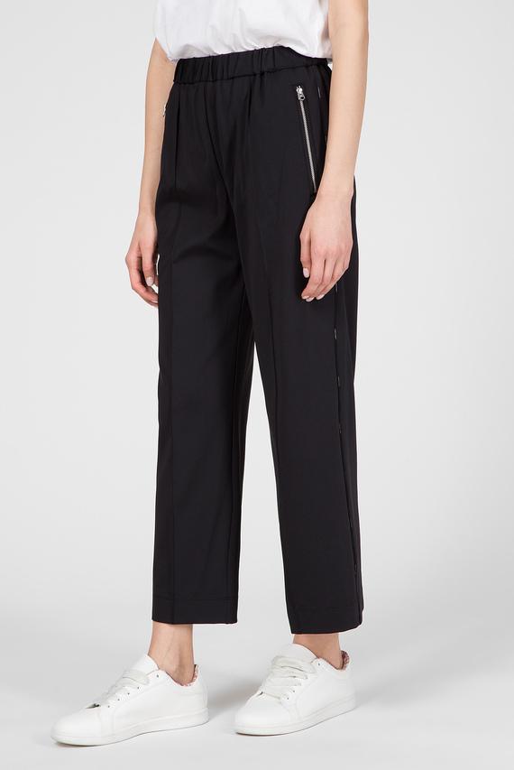 Женские черные брюки PUNTO MILANO