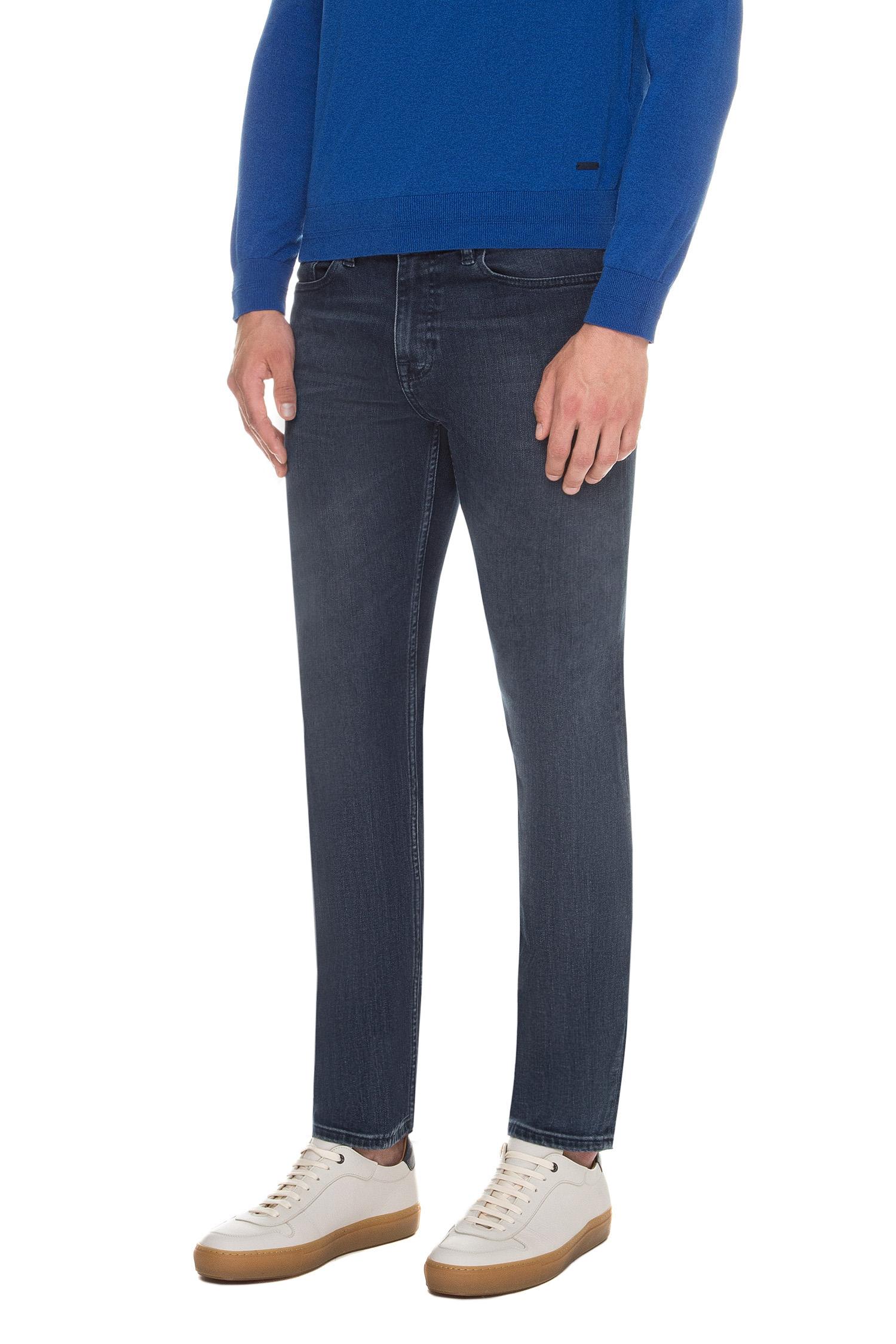 Мужские темно-синие джинсы 020 DELEWARE BOSS