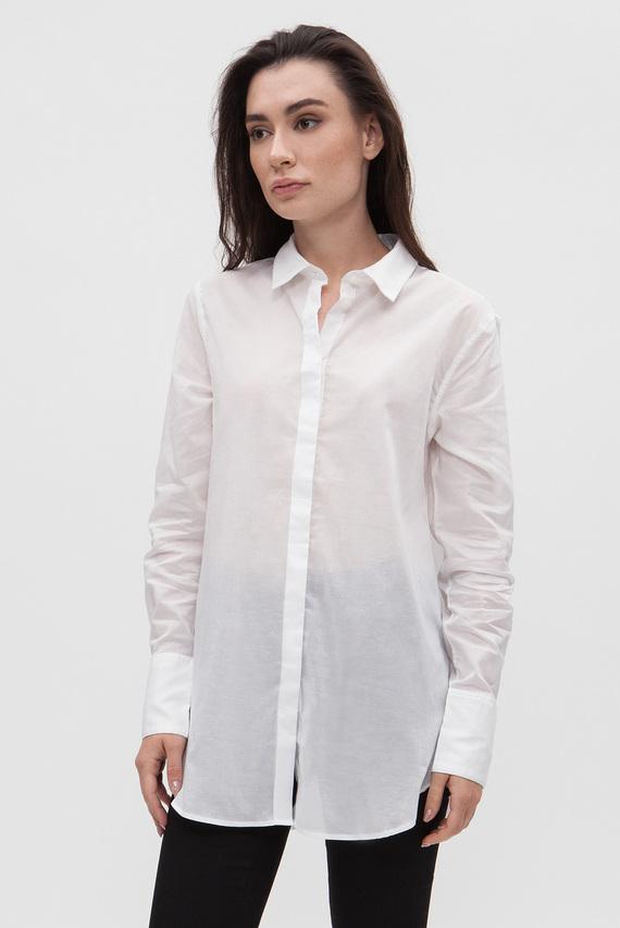 Женская белая рубашка Deline boyfriend shirt