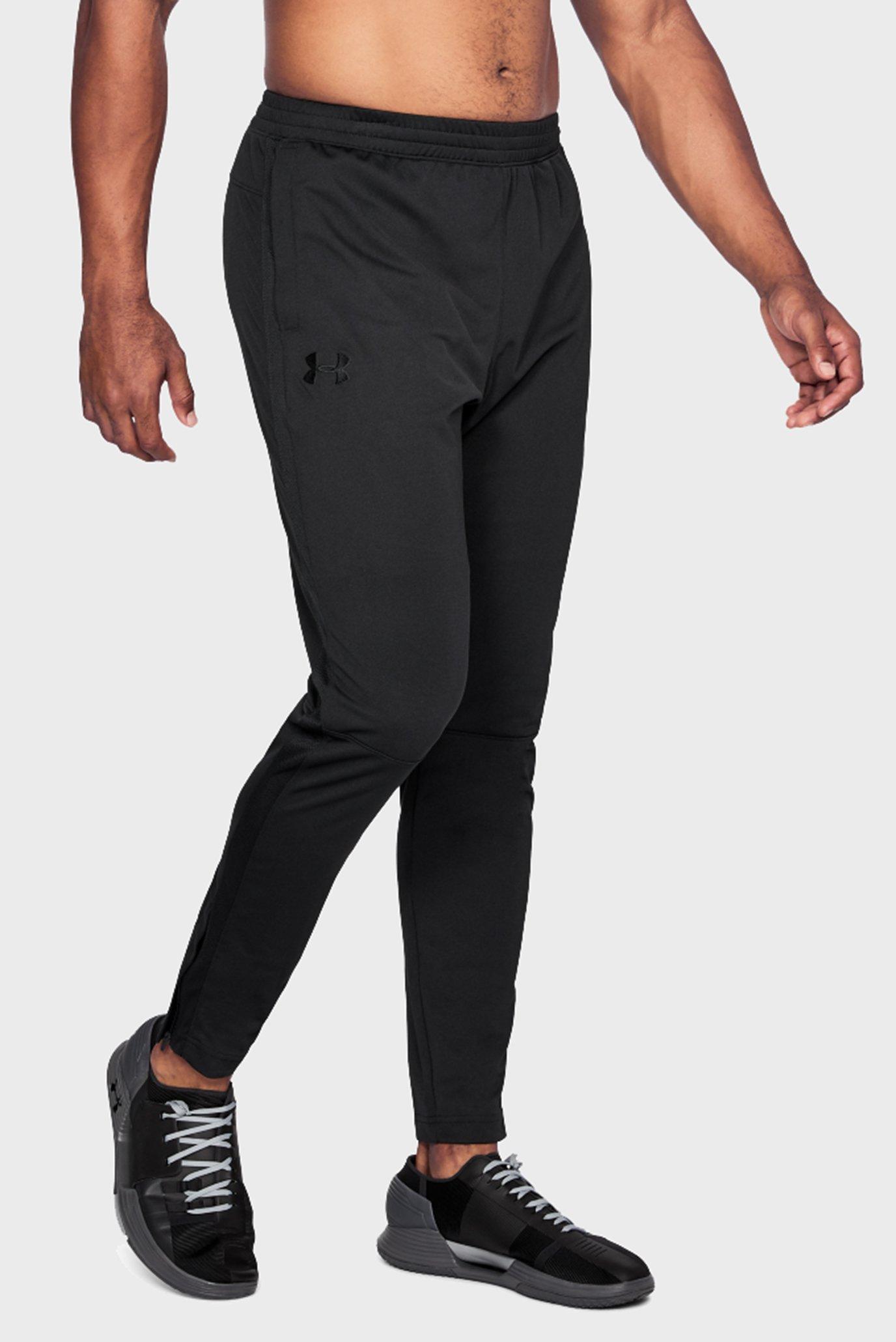 Чоловічі чорні спортивні штани SPORTSTYLE PIQUE TRACK PANT 1