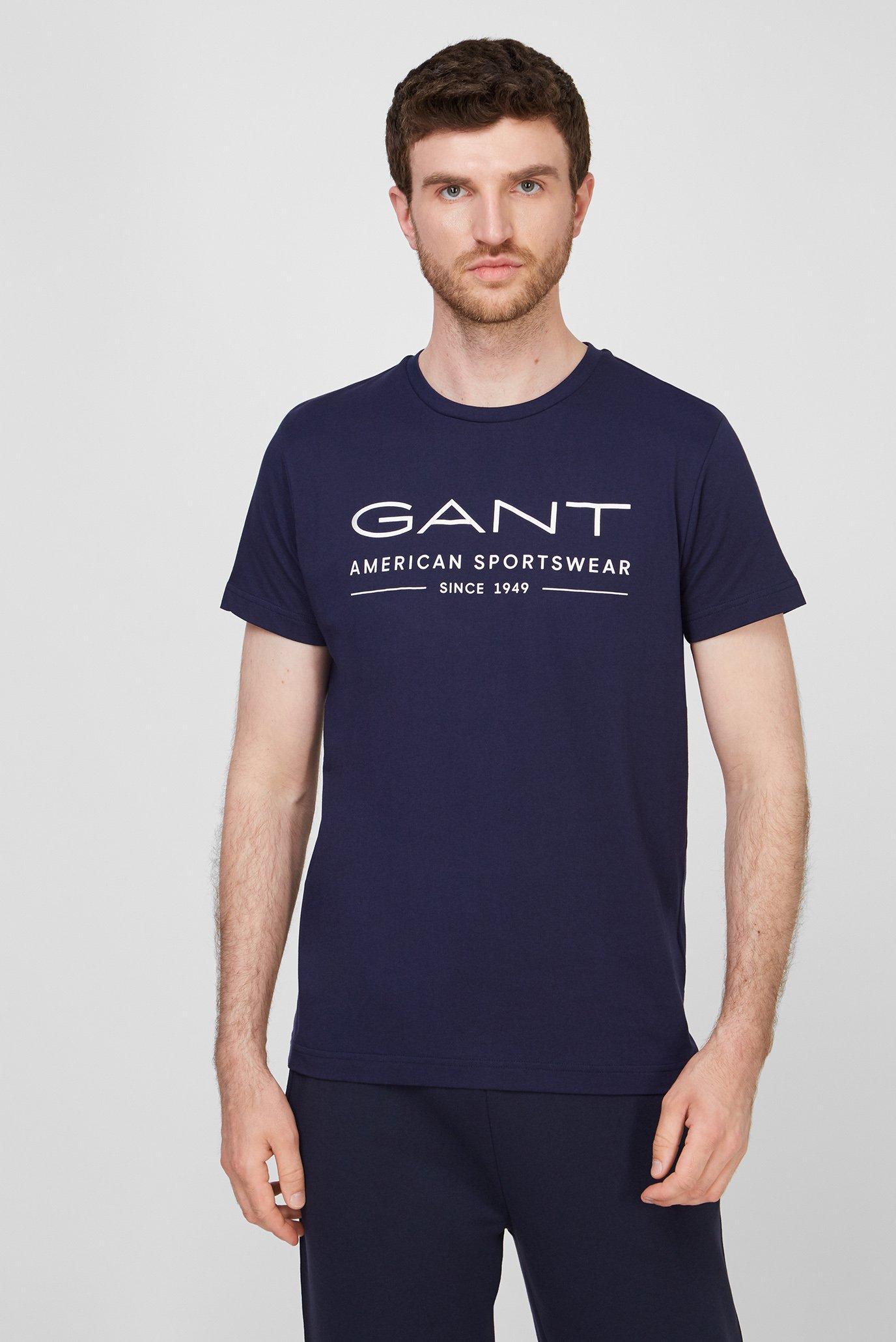 Чоловіча темно-синя футболка SUMMER SS 1