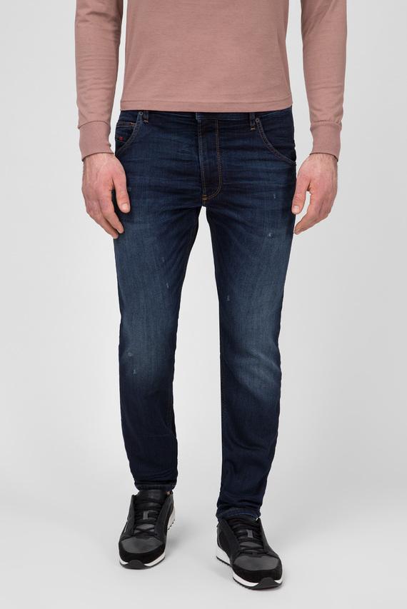 Мужские темно-синие джинсы KROOLEY CB-NE Sweat Jeans