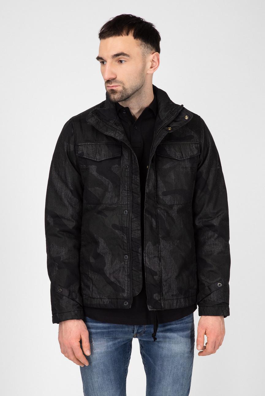 Мужская камуфляжная джинсовая куртка Vodan