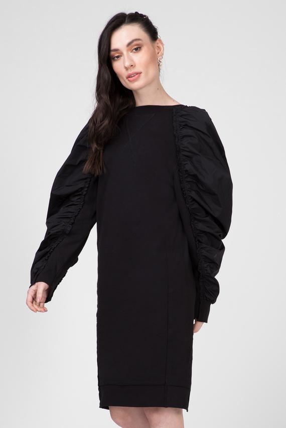 Женское черное платье D-FLISS