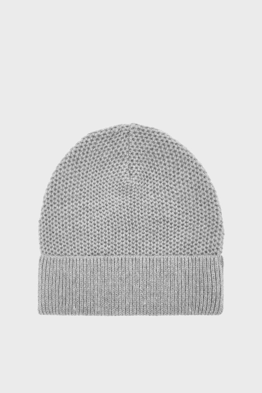 Женская серая шапка WB PRETTY METALLIC P