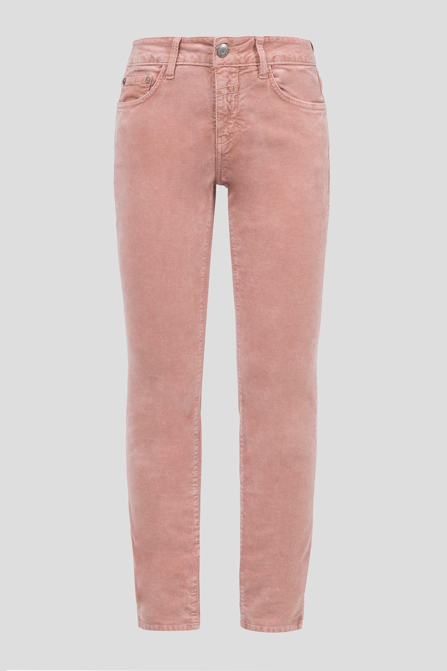 Женские розовые вельветовые брюки Closed