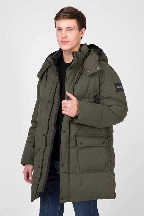 Мужская зеленая куртка LONG LENGTH