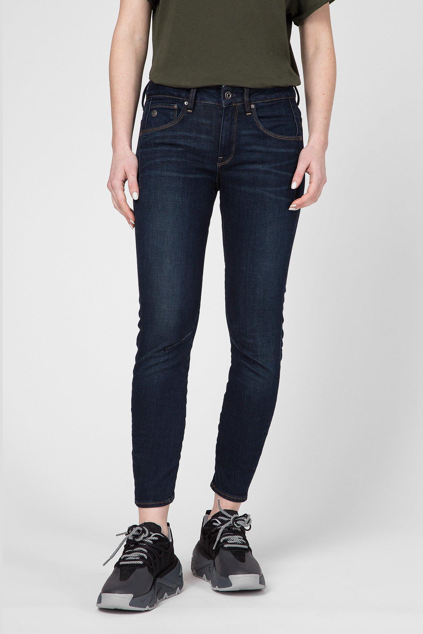 Жіночі темно-сині джинси Arc 3D Mid Skinny Wmn 1