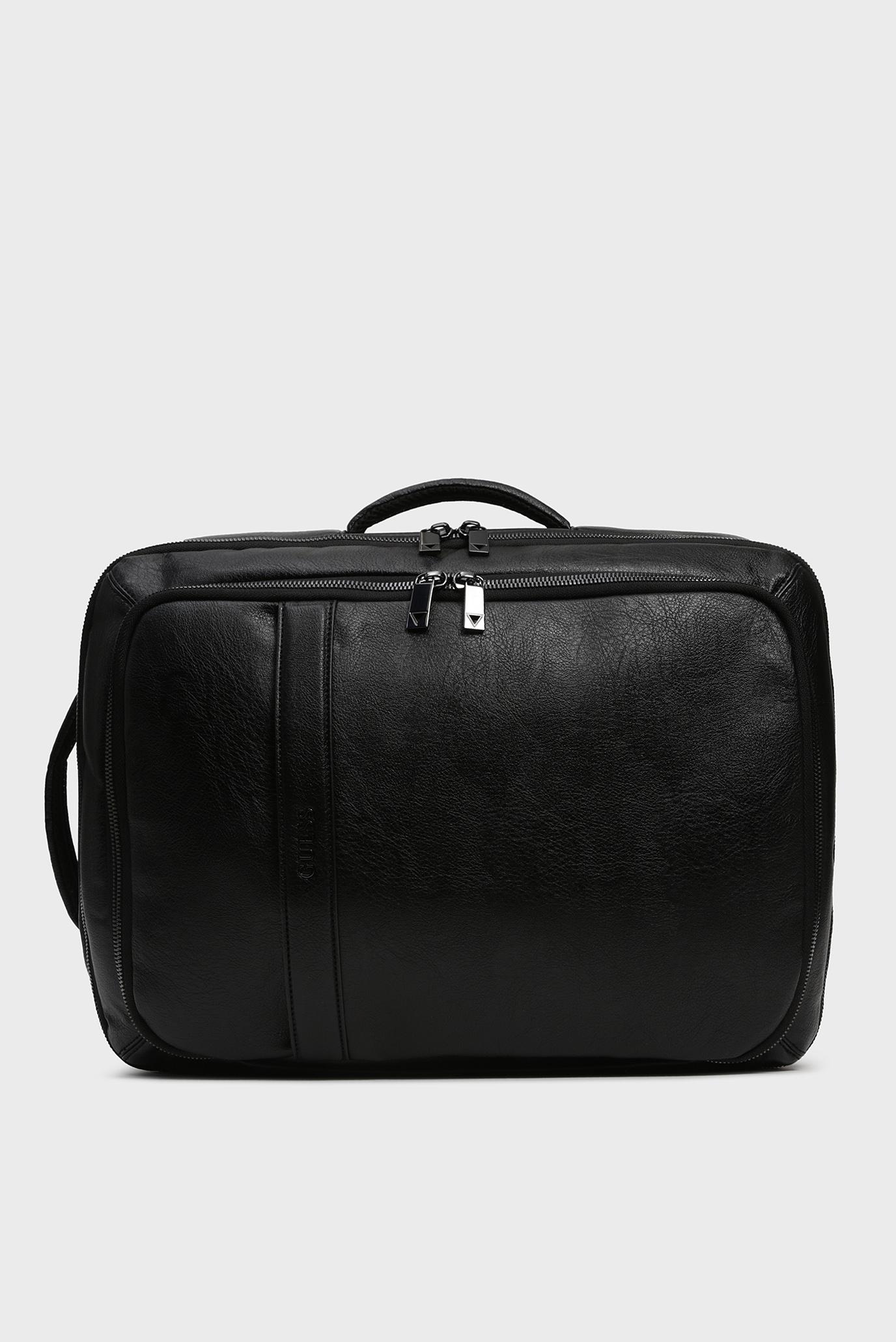 Купить Мужской черный рюкзак CITY WORKBAG BACKPACK Guess Guess HM6717POL93 – Киев, Украина. Цены в интернет магазине MD Fashion