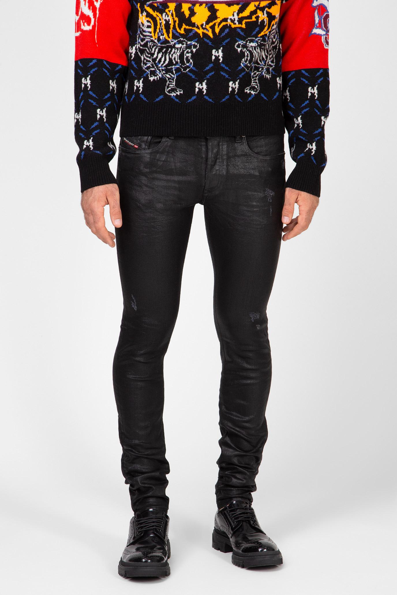 Мужские черные джинсы Sleenker 1