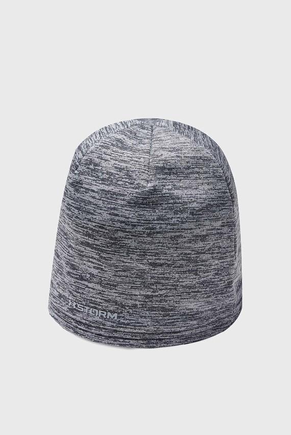 Мужская серая шапка Storm Beanie