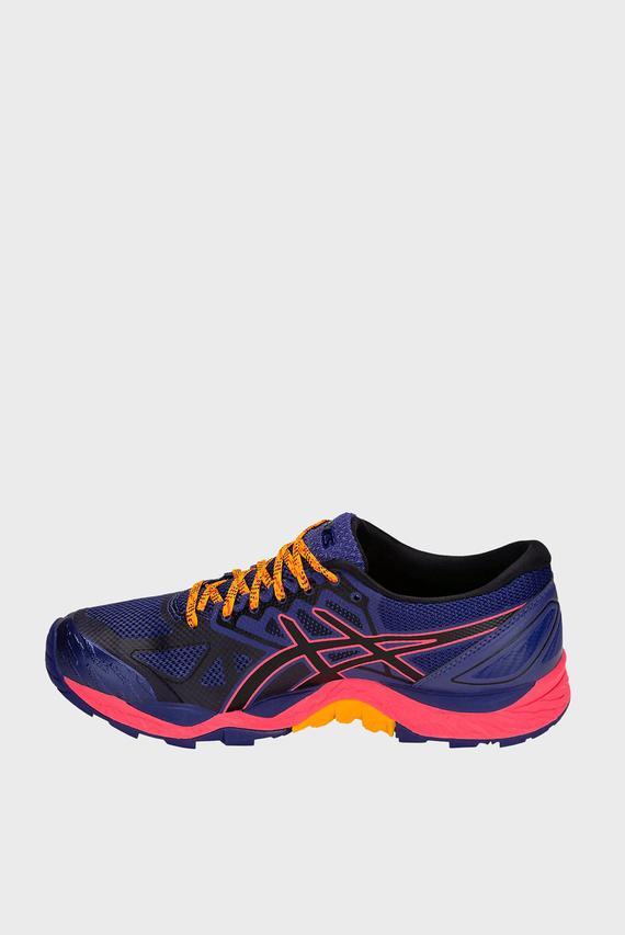 Женские фиолетовые кроссовки GEL-FUJITRABUCO 6 G-TX