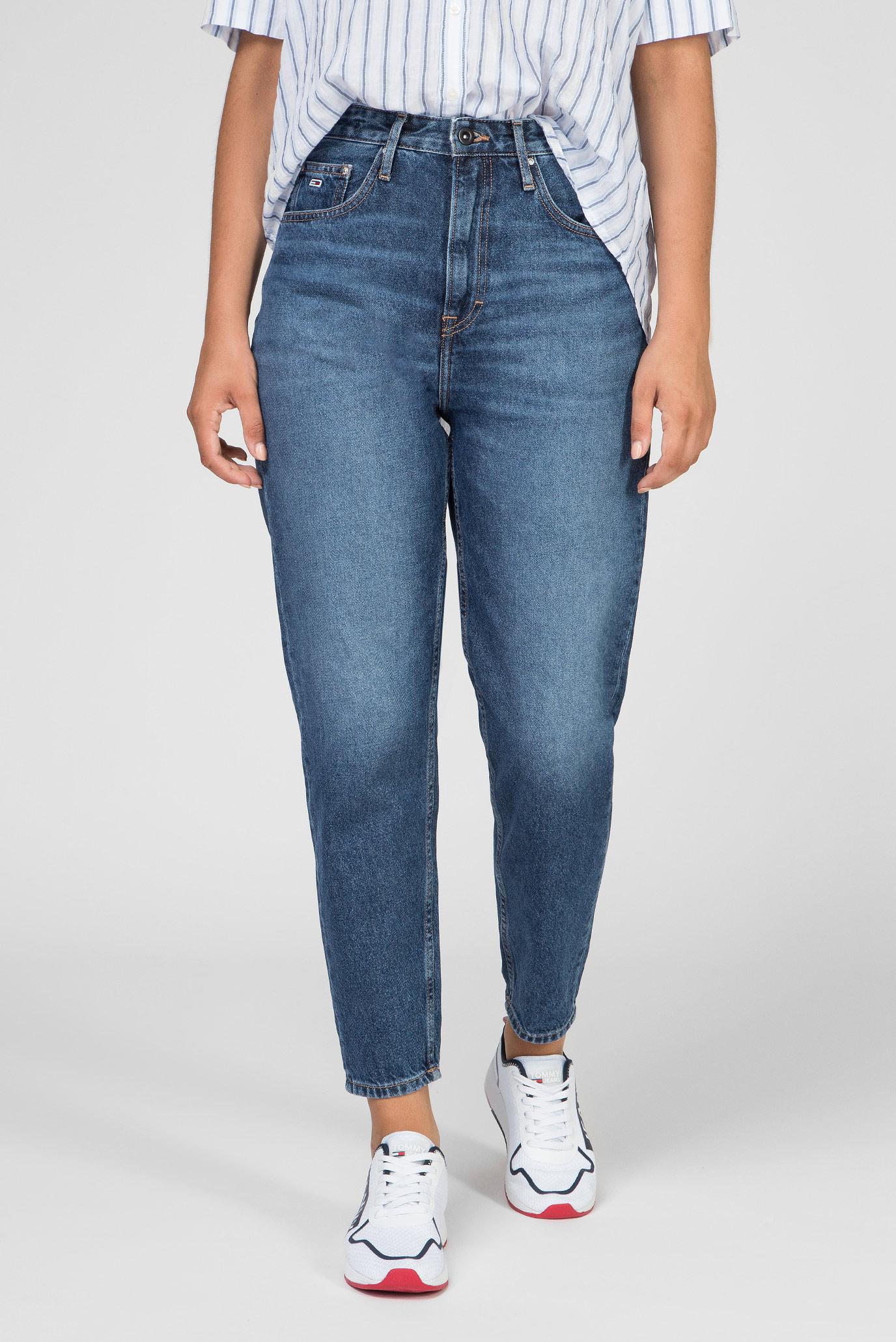 Женские синие джинсы HIGH RISE TAPERED TJ 2004 TJSM Tommy Hilfiger