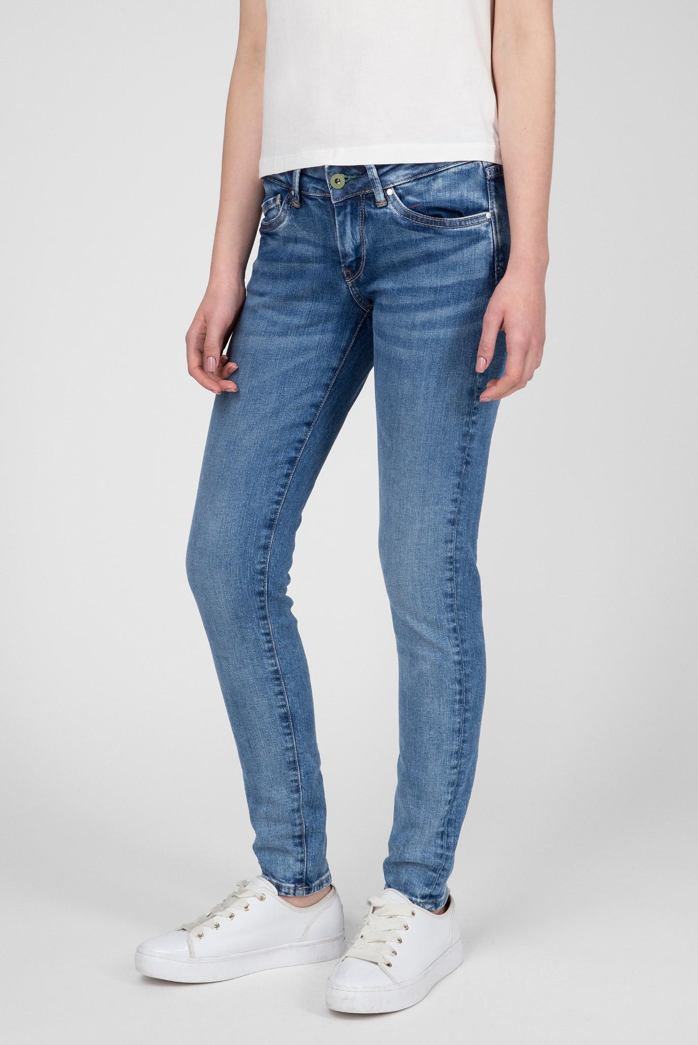 Женские синие джинсы PIXIE Pepe Jeans