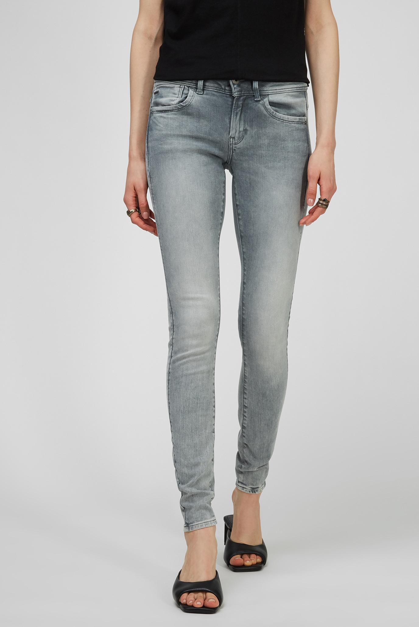 Жіночі сірі джинси Lynn Mid Skinny 1