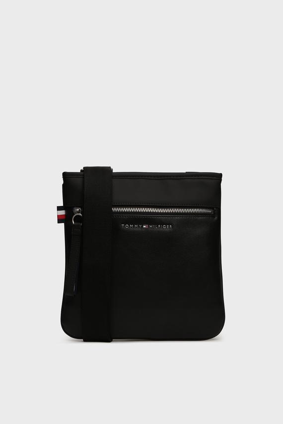 Мужская черная сумка через плечо TH METRO