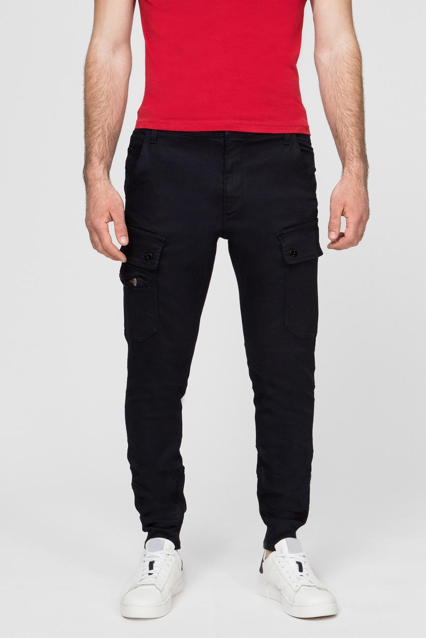 Мужские темно-синие джинсы kaltag