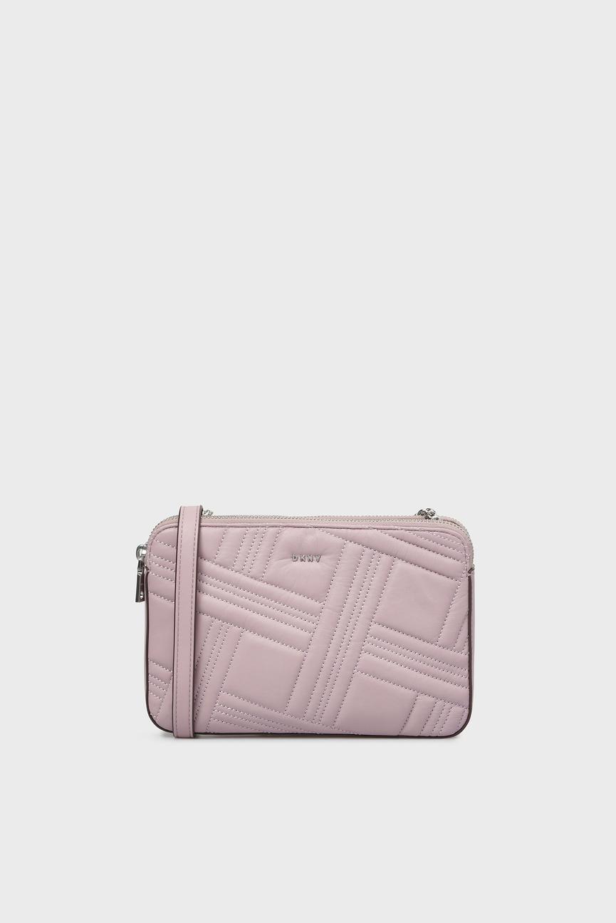 Женская сиреневая сумка через плечо