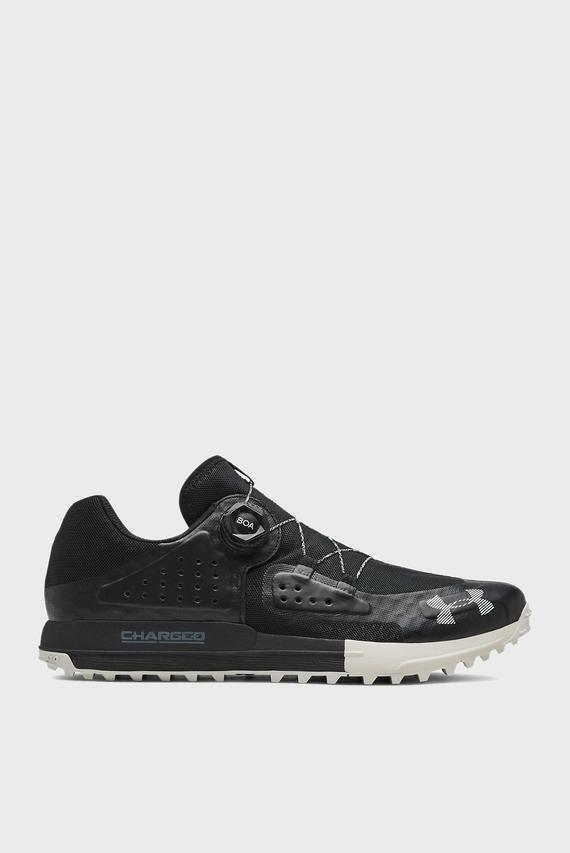 Мужские черные кроссовки UA Syncline