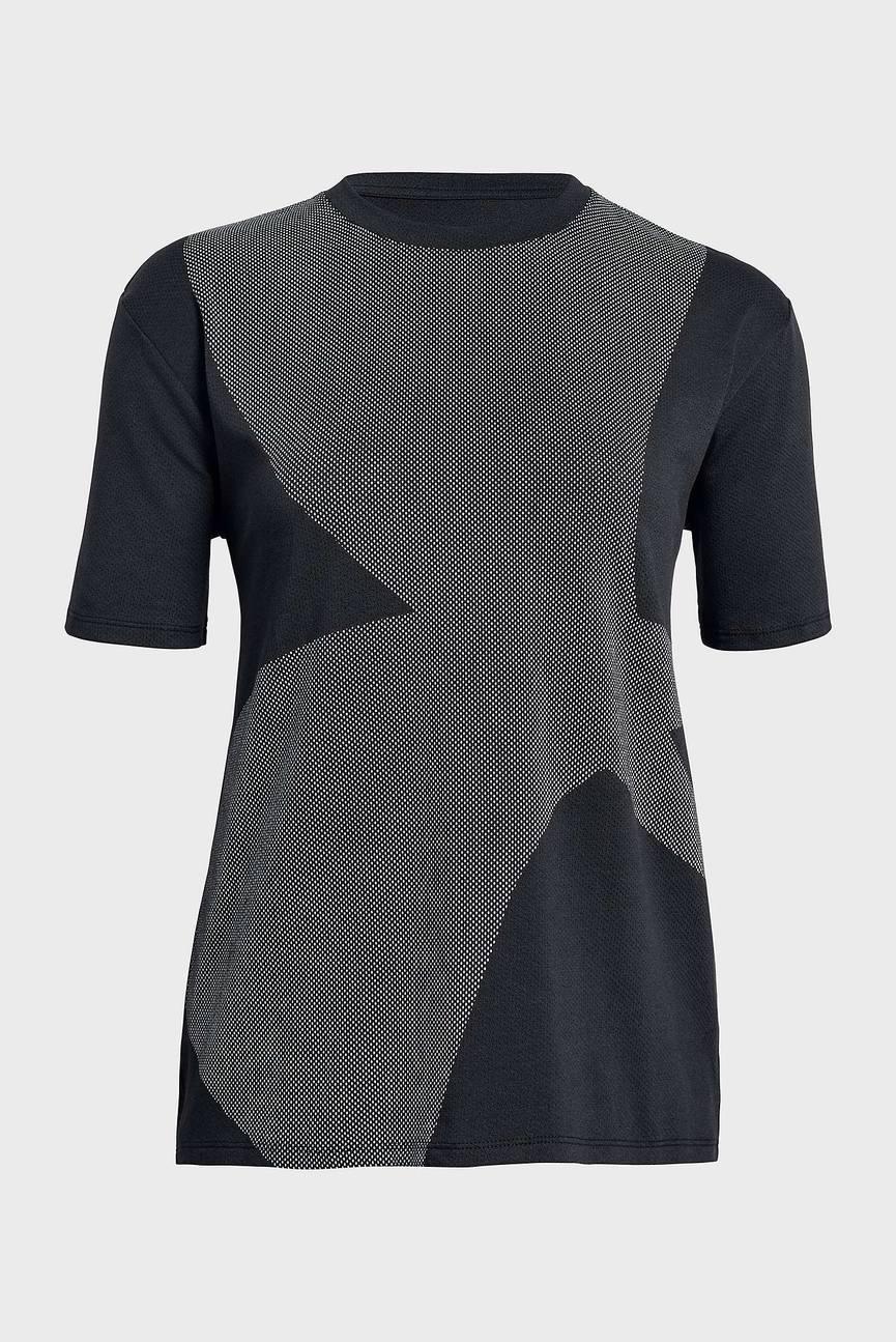 Женская черная футболка Pindot GF Crew-Ex Logo