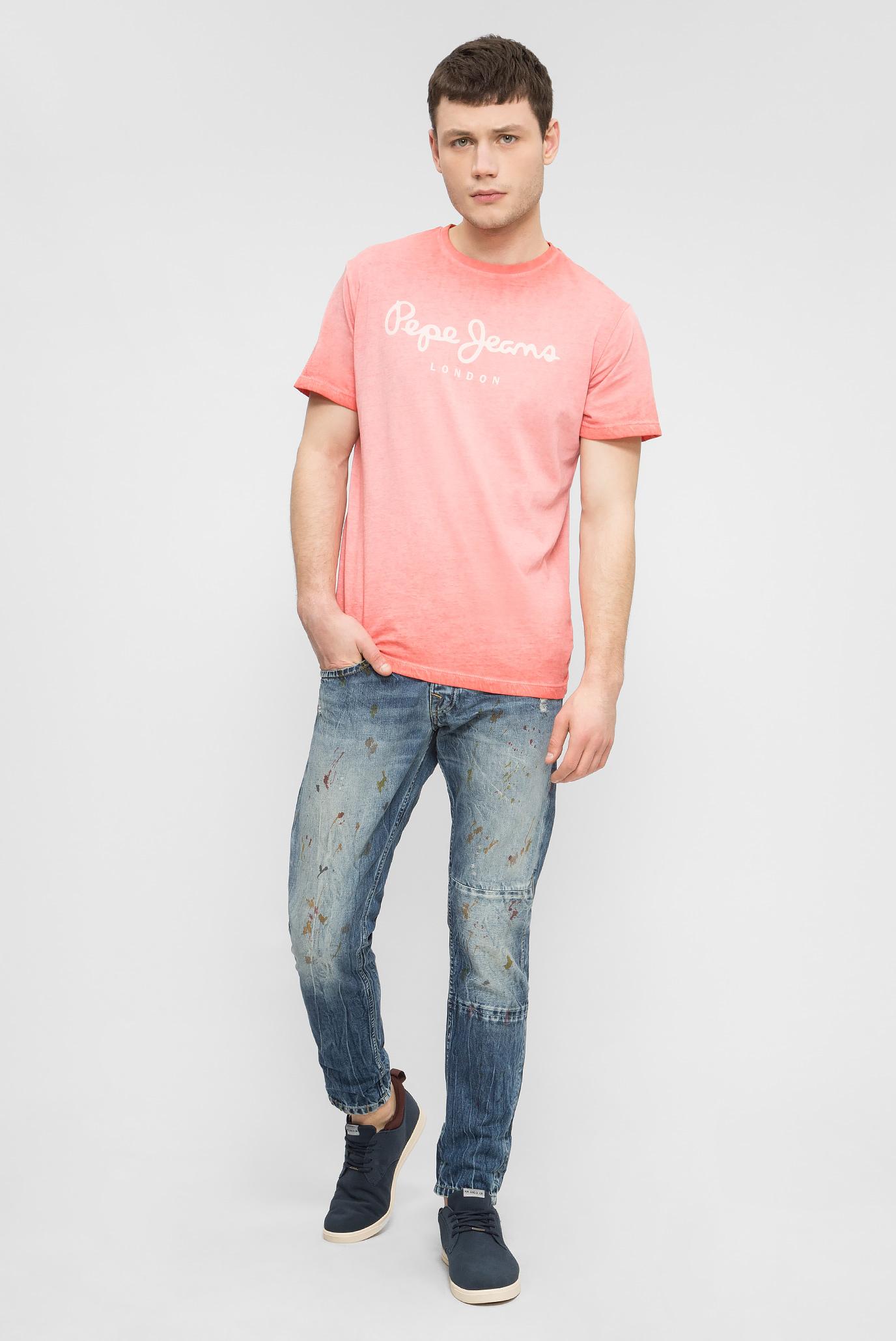 Купить Мужские синие джинсы KOLT PAINT Pepe Jeans Pepe Jeans PM2024290 – Киев, Украина. Цены в интернет магазине MD Fashion