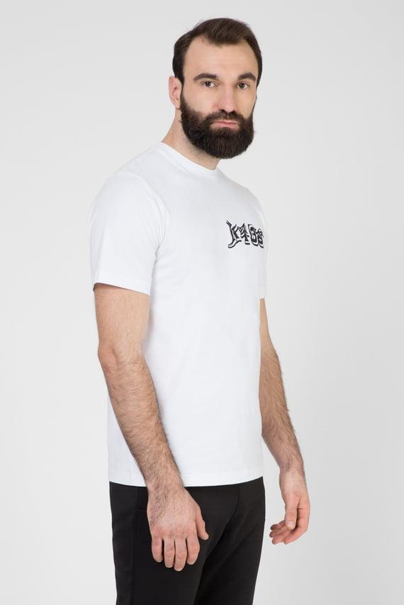Мужская белая футболка T-JUST-T31