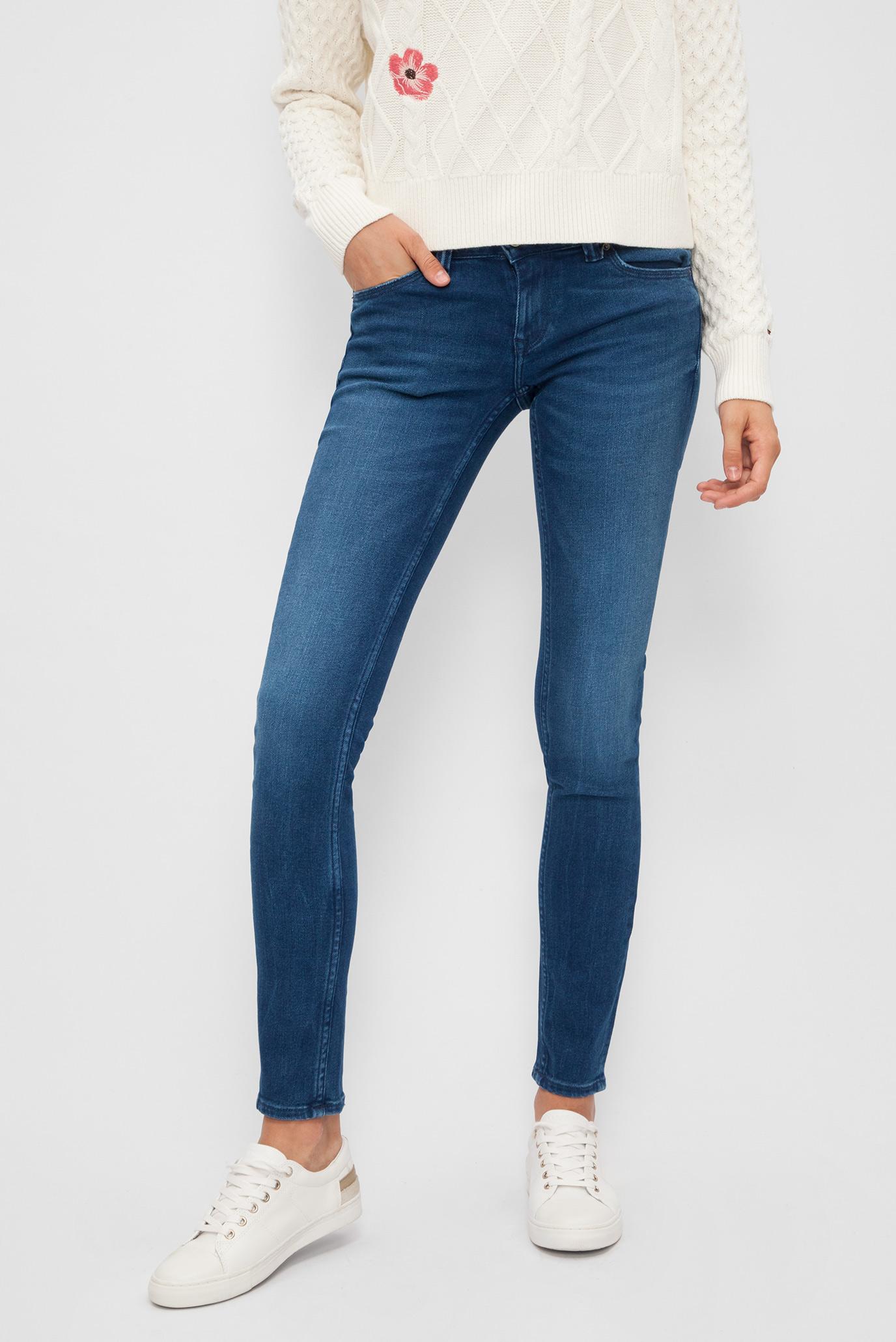 c9a2cb891d30 Купить Женские синие джинсы Tommy Hilfiger Tommy Hilfiger DW0DW02412 –  Киев, Украина. Цены в интернет магазине MD Fashion
