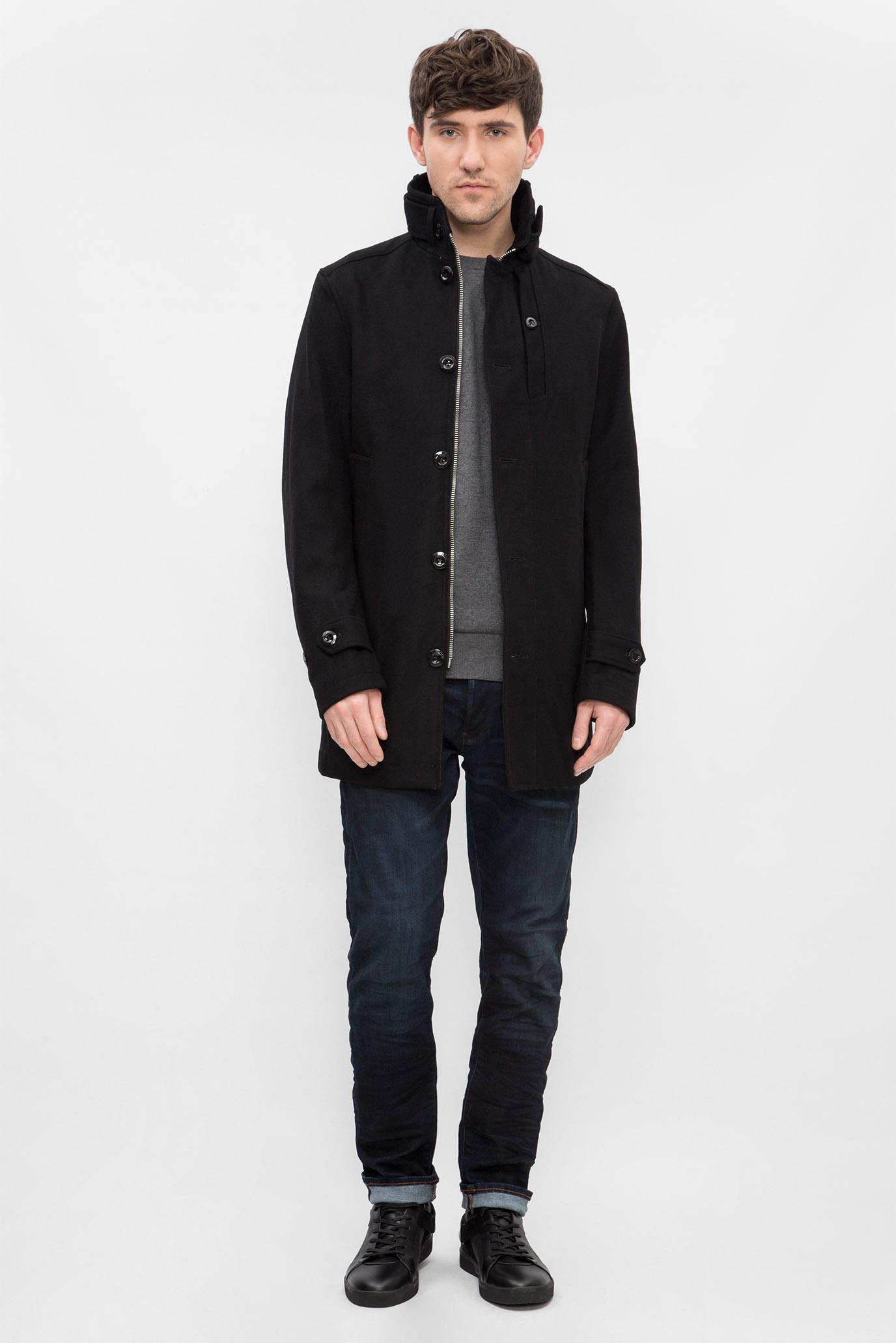 Купить Мужское черное пальто G-Star RAW G-Star RAW D06186,9168 – Киев, Украина. Цены в интернет магазине MD Fashion