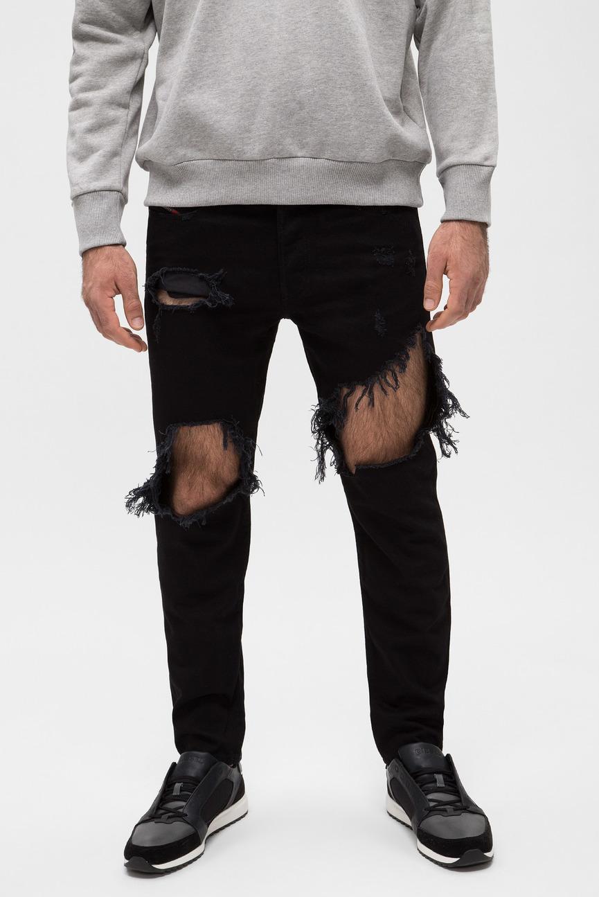 Мужские черные джинсы MHARKY