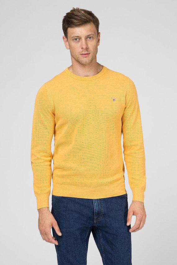 Мужской желтый джемпер