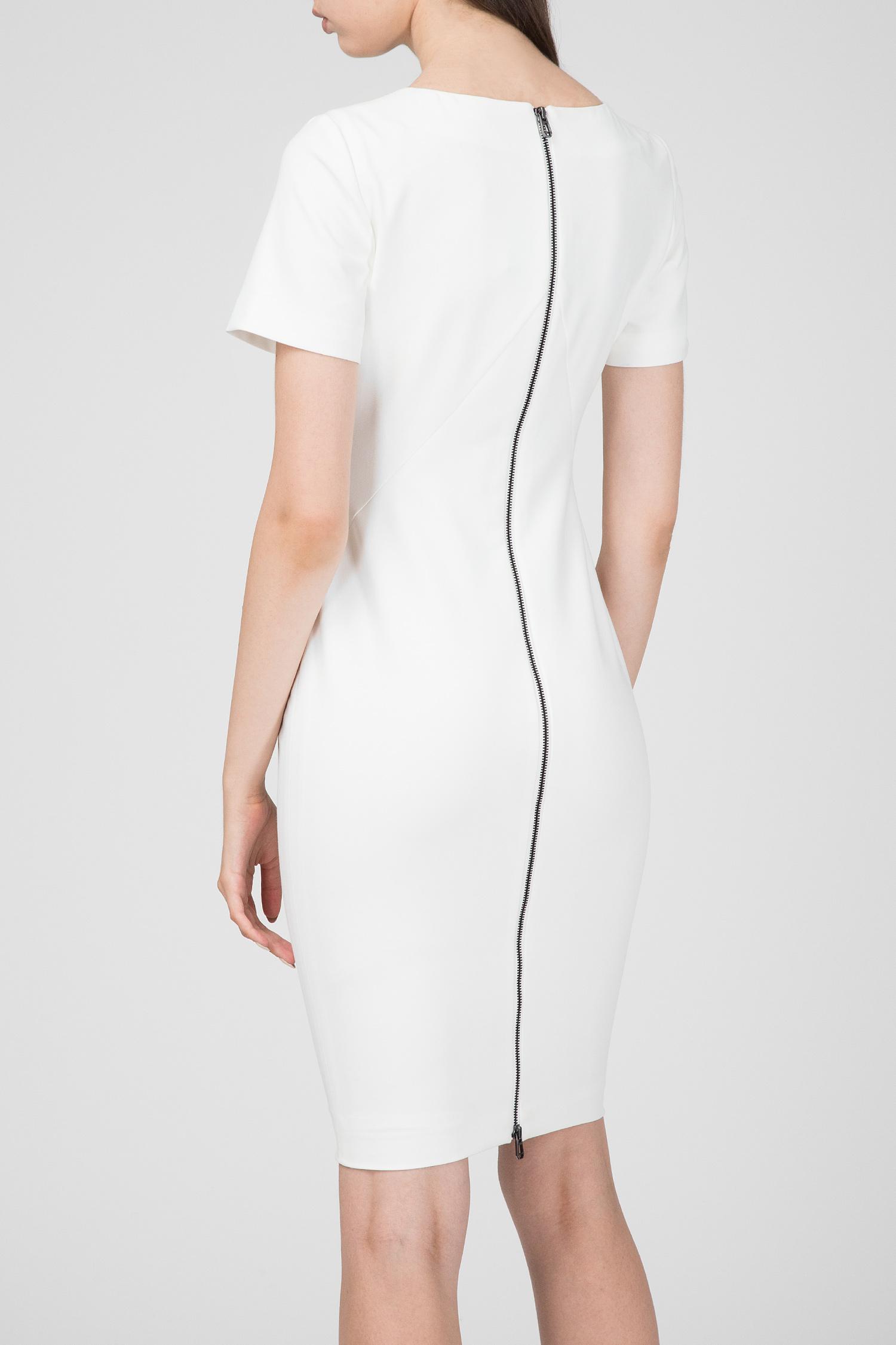 Женское белое платье-футляр DANA Joop